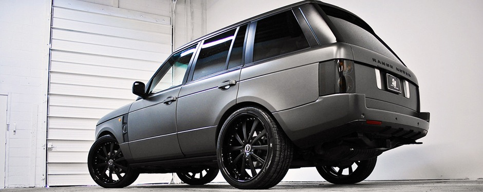 Range Rover car wraps in Manchester, Cheshire and ...