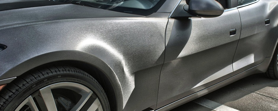 Brushed Aluminum Car Paint