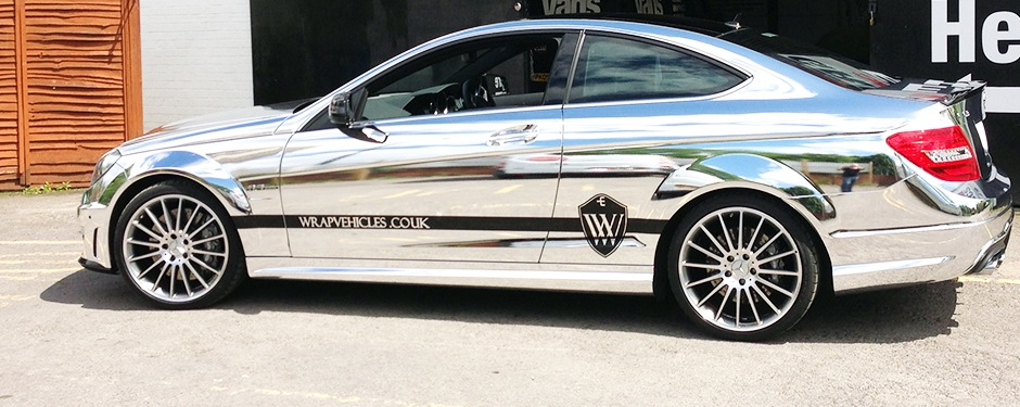 Chrome Vehicle Wraps By