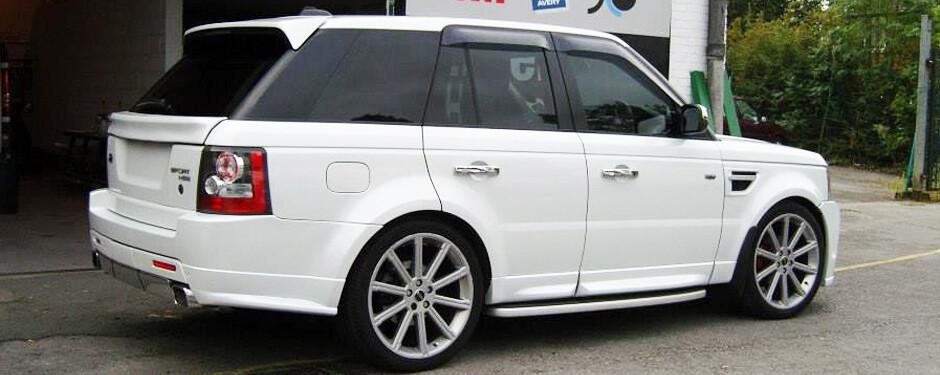 Range Rover Wraps Manchester