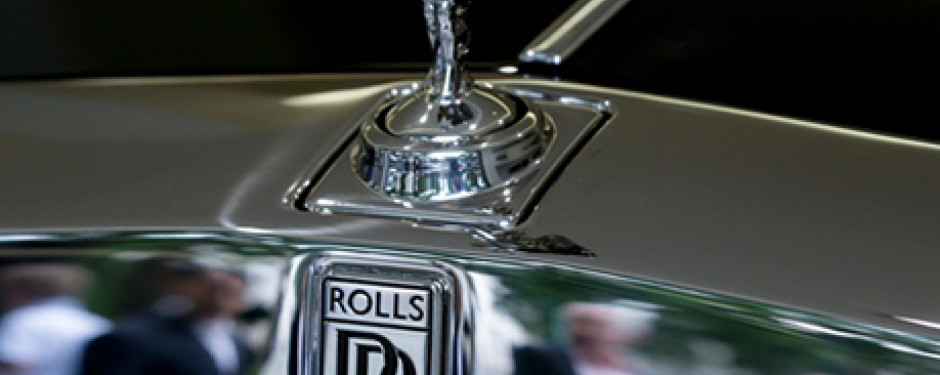 Rolls Royce Trim Chrome Repair