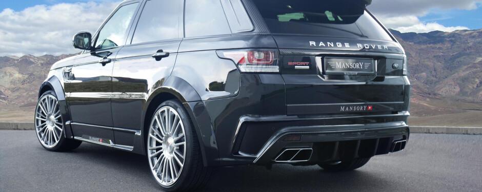 Range Rover Wraps - Range Rover Bodykits - Range Rover Tints - Range
