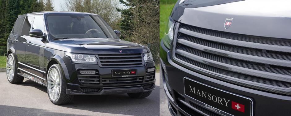Range Rover Modifications