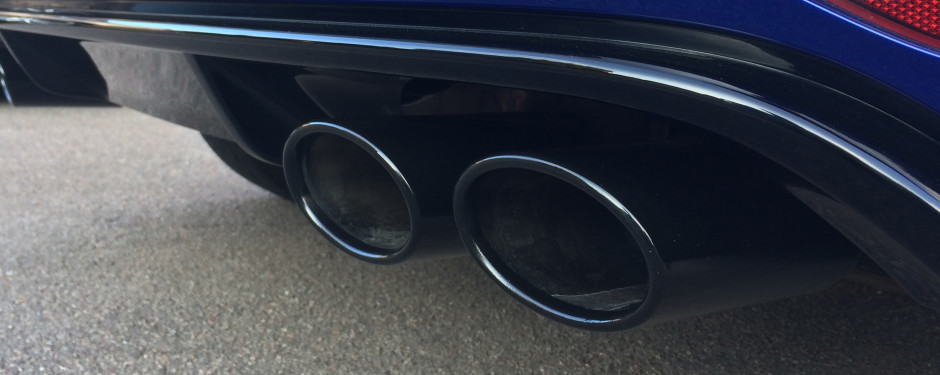 Exhaust Tip Painting