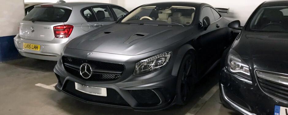 Mercedes Wraps Manchester