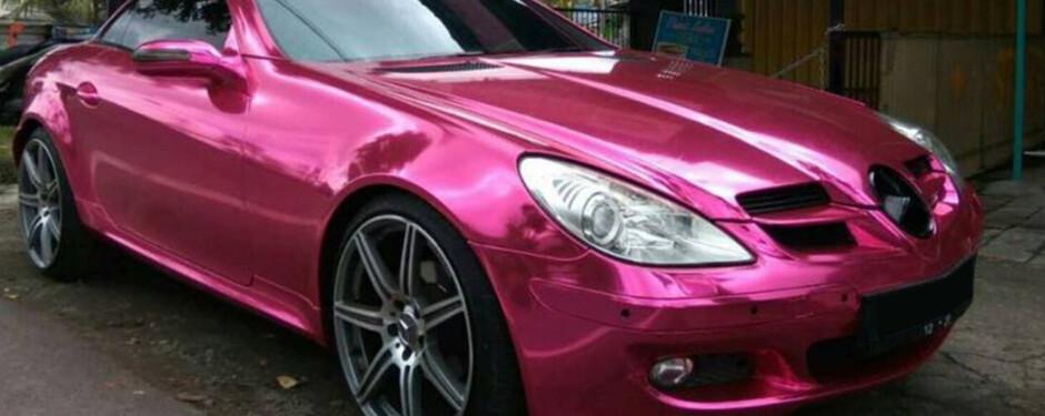 Chrome Car Wraps Manchester
